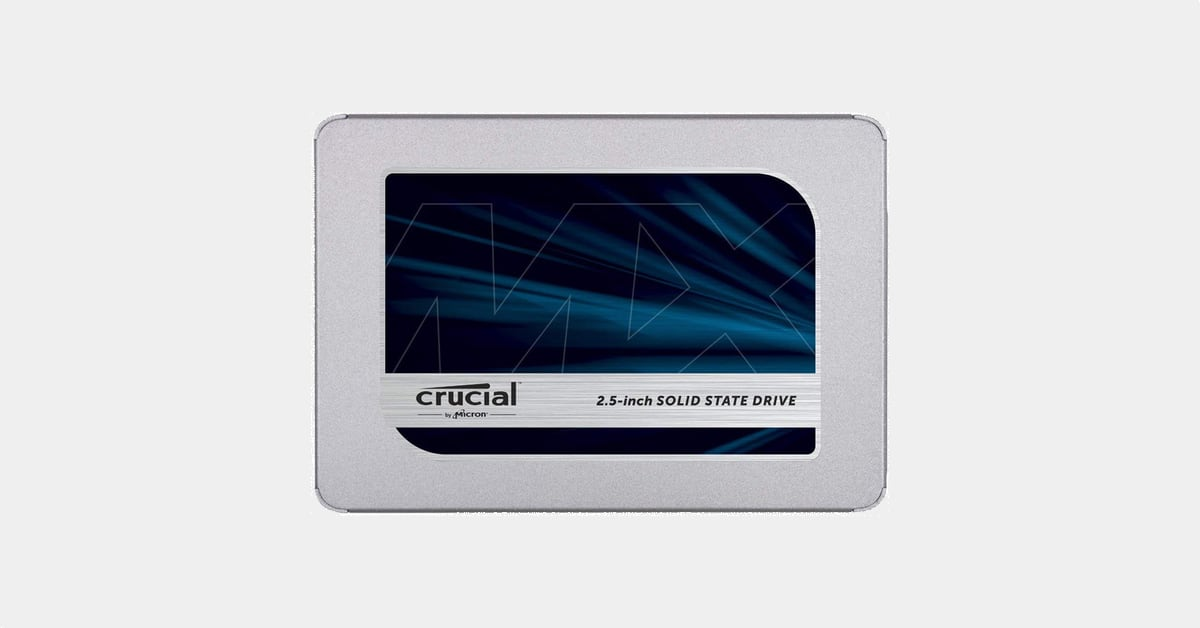 Prime Day : le SSD Crucial MX500 (2 To) à -24%