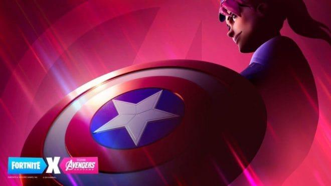 Encore du Avengers dans Fortnite.