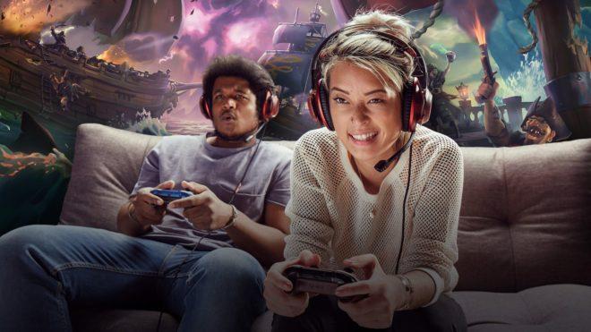 Le jeu vidéo chez Microsoft est en hausse.