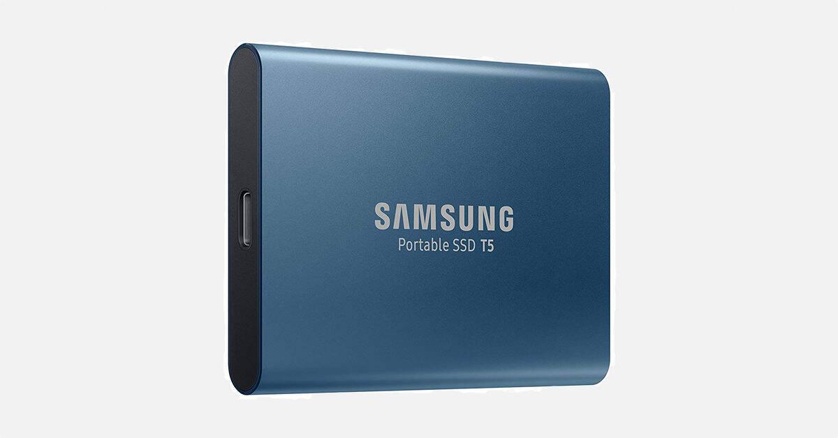 Bon plan : le SSD externe Samsung T5 1 To à -40% sur Fnac