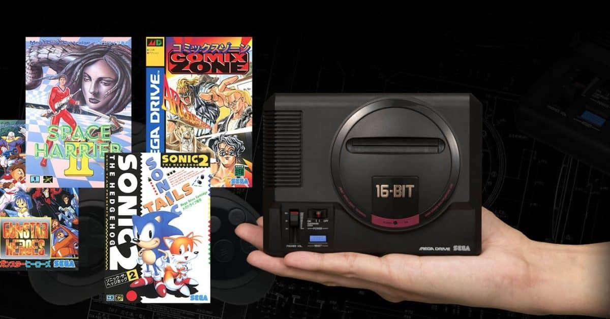 Sega propose 10 nouveaux titres pour sa Mega Drive Mini