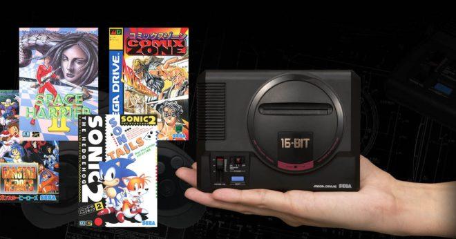Sega annonce une sortie de la Mega Drive Mini pour septembre 2019 avec 40 jeux.