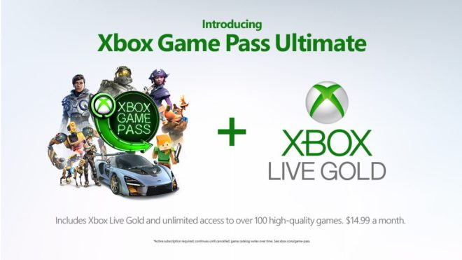 Microsoft annonce le Xbox Game Pass Ultimate.
