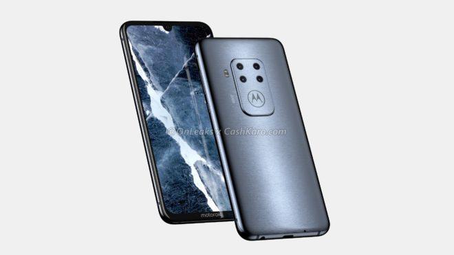 smartphone Motorola quatre capteurs photo