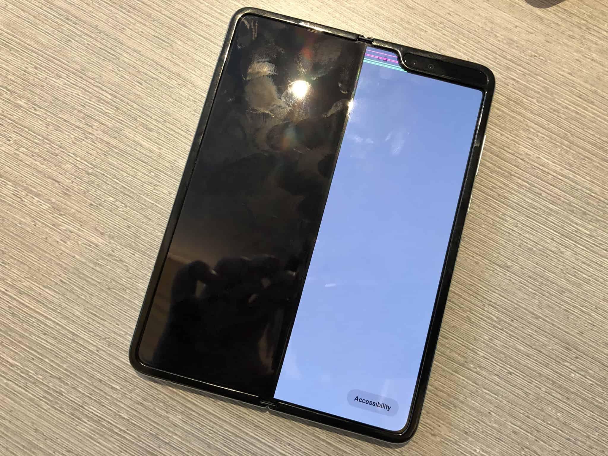 Déjà des problèmes d'écran pour le Samsung Galaxy Fold ?