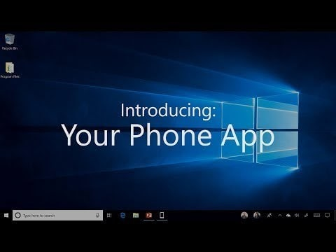 Windows 10 Your Phone