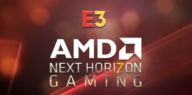 AMD sera à l'E3 2019 et va dévoiler des produits pour la nouvelle génération.