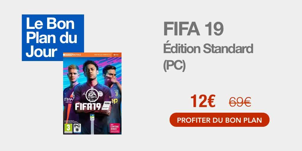 Bon plan : FIFA 19 sur PC à 12€ seulement sur Amazon