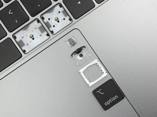 Clavier du MacBook Pro 2019