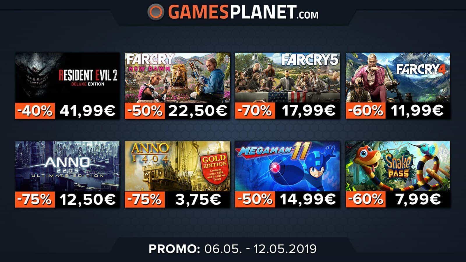 Gamesplanet : les licences Far Cry et Anno en promotion