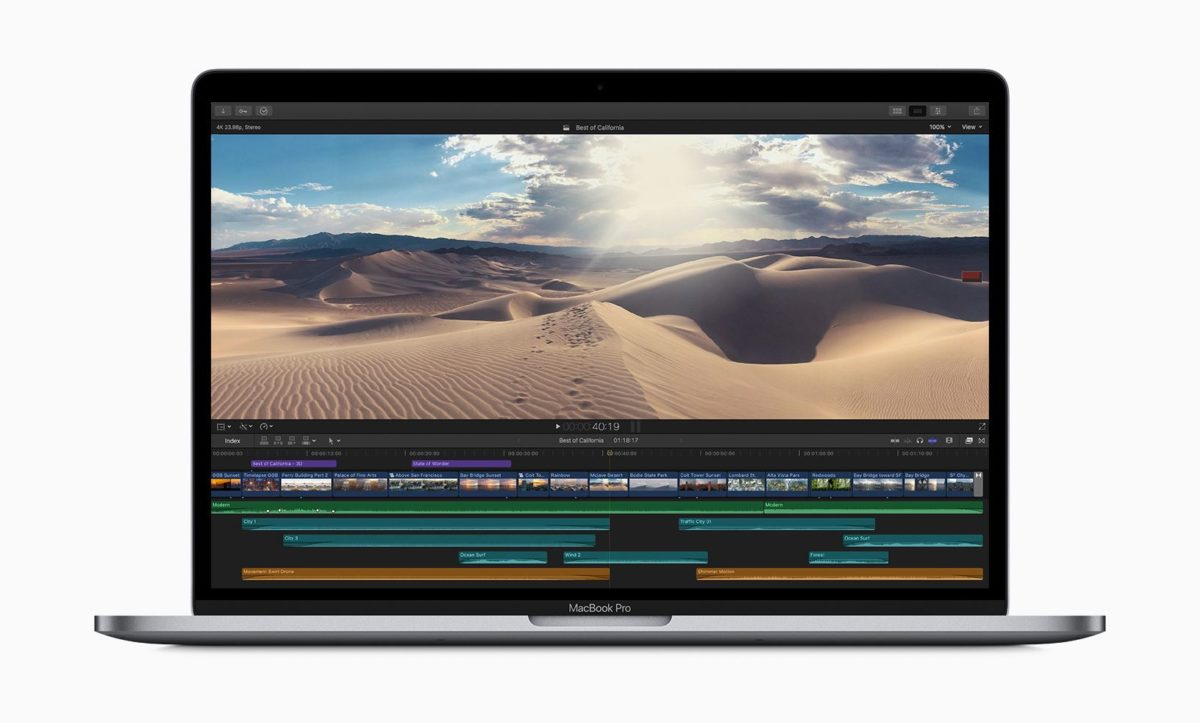 Apple : de nouveaux claviers Papillon équipent les MacBook Pro 2019
