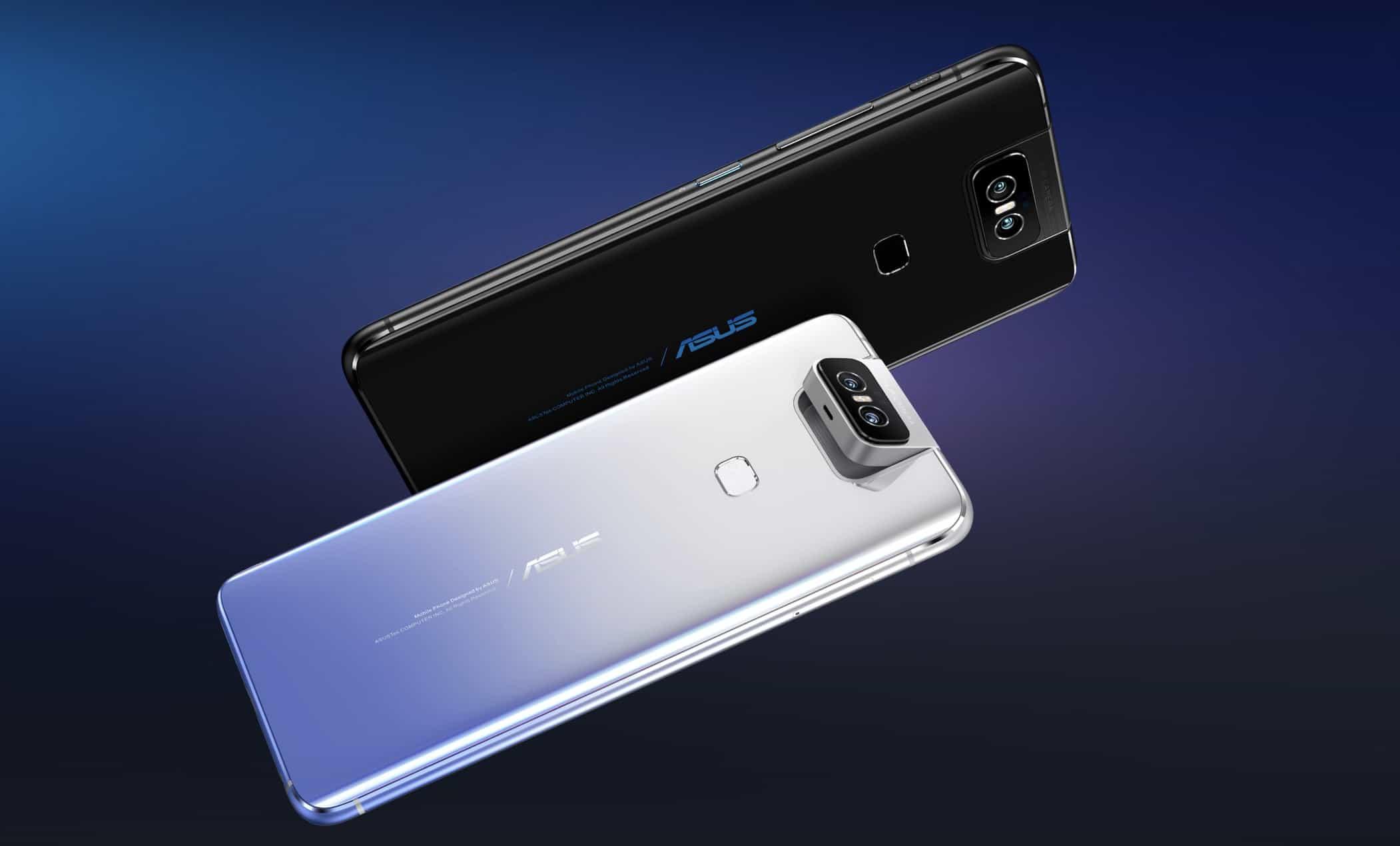 Asus dévoile son ZenFone 6, smartphone borderless avec Flip Camera à 499€