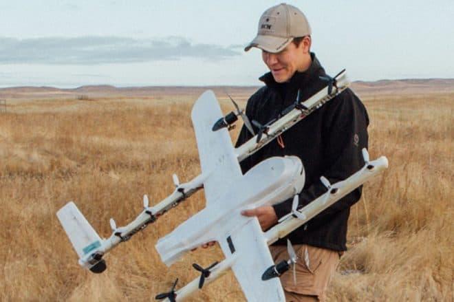 drone livraison Wing Alphabet