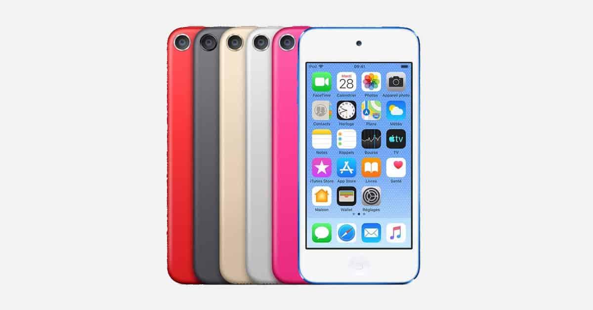 Apple annonce un nouvel iPod Touch, avec puce A10 Fusion et 256 Go de stockage