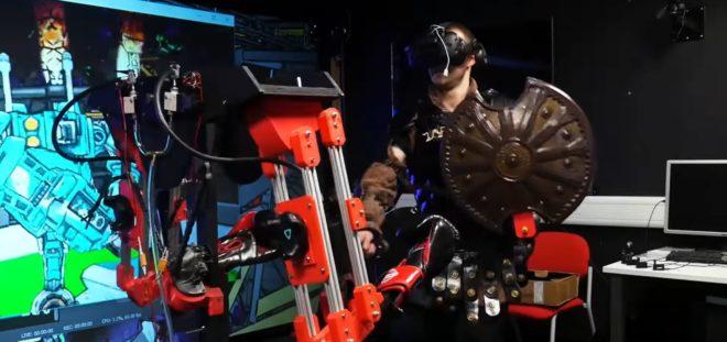 robot réalité virtuelle James Bruton