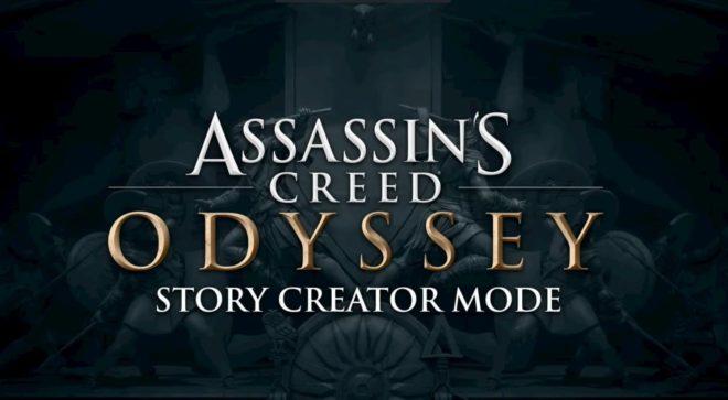 Ubisoft annonce un Story Creator Mode pour Assassin's Creed Odyssey à l'E3 2019.