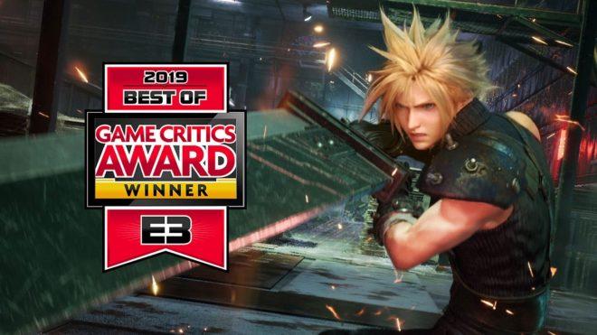 Les gagnants des Game Critics Awards de l'E3 2019.