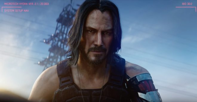 Keanu Reeves sera dans Cyberpunk 2077.