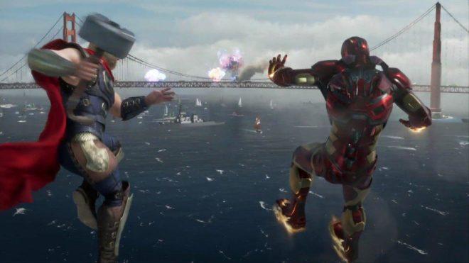 Cinq studios travaillent sur Marvel's Avengers.