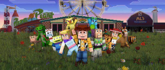 Minecraft accueille le monde de Toy Story.