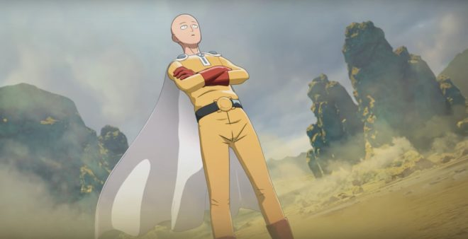 Saitama va distribuer les coups de poing dans One Punch Man : A Hero Nobody Knows.