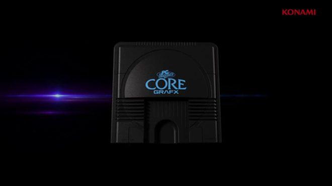 Konami a dévoilé la PC Engine Mini à l'E3 2019.