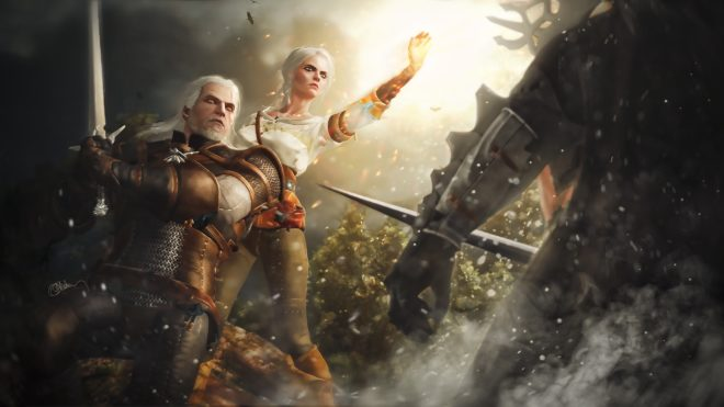 The Witcher 3 sur Switch a été officialisé à l'E3 2019.