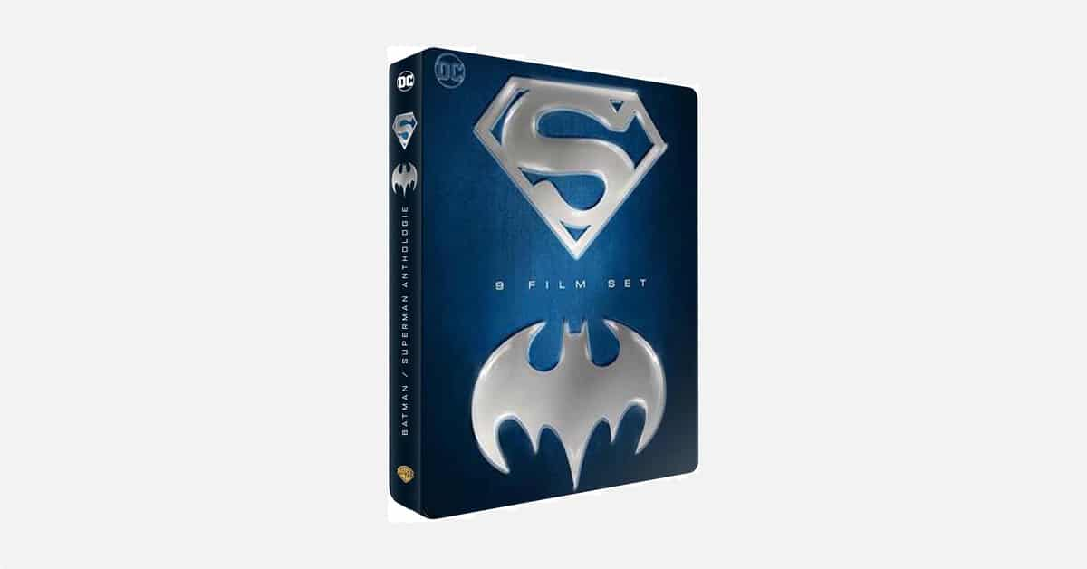 Prime Day : un coffret 9 films Batman/Superman pour les nostalgiques (Blu-ray)