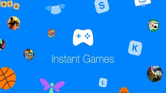 Instant Games ne sera plus sur Messenger.
