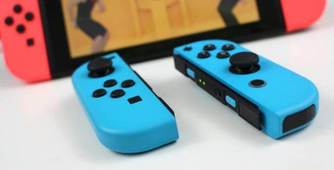 Nintendo réagit au bug des manettes Switch.