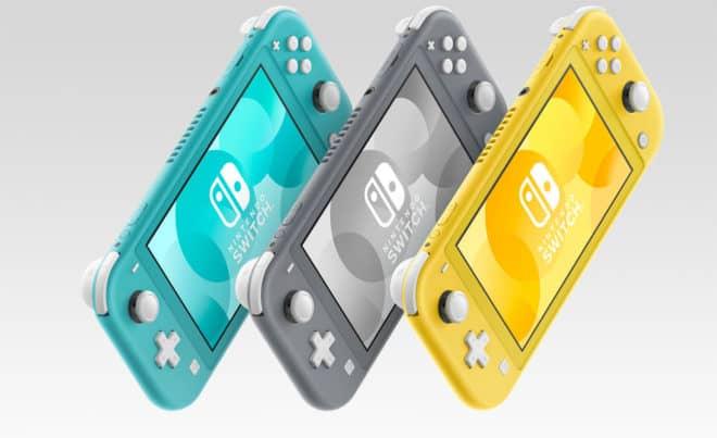 Plus compacte et légère, la Nintendo Switch Lite est particulièrement facile à transporter.
