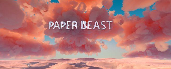 Paper Beast se montre dans une nouvelle vidéo.