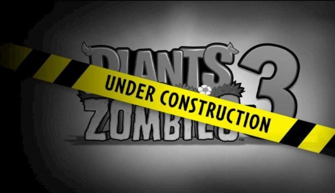 PopCap Games annonce l'arrivée de Plants vs. Zombies 3 sur les smartphones.