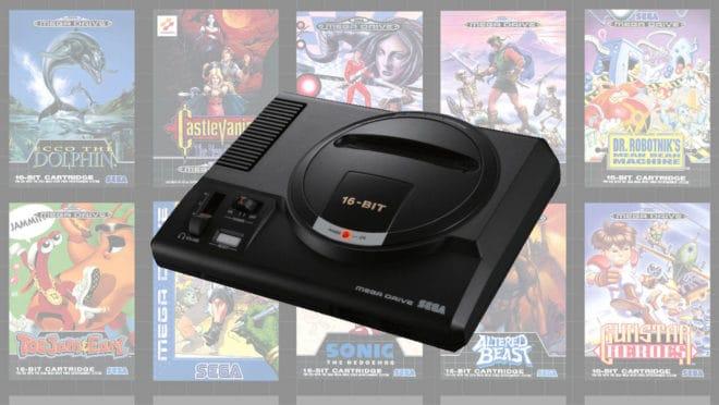 Un léger report pour la Mega Drive Mini.