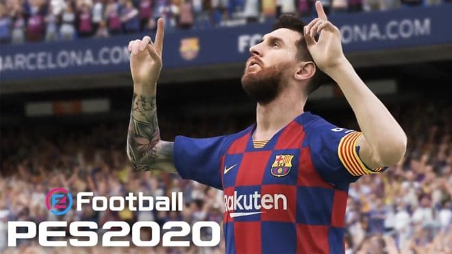 eFootball PES, le nouveau nom de la franchise Pro Evolution Soccer.
