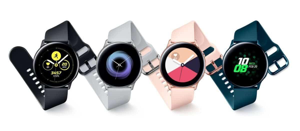 La montre Samsung Galaxy Watch Active 2 disposerait d'une couronne tactile
