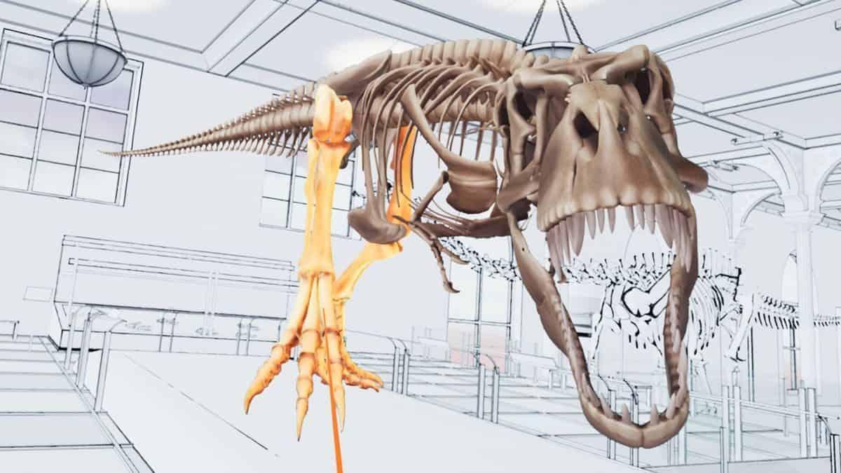 Grâce à ce jeu de VIVE Studios, assemblez un T-Rex en réalité virtuelle