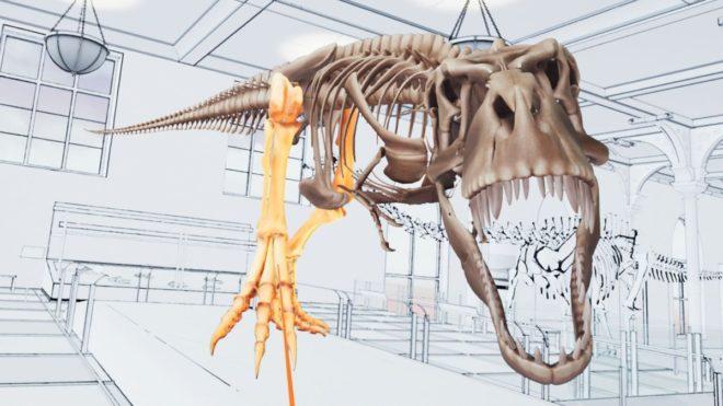 VIVE Studios T-Rex réalité virtuelle