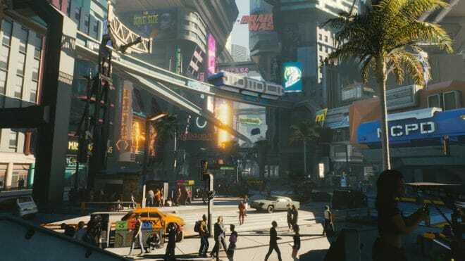 CD Projekt RED donne des précisions sur la carte de Cyberpunk 2077.