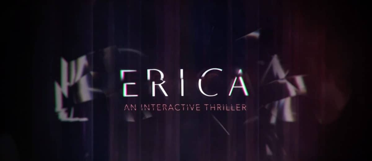 Gamescom 2019 : Erica, un thriller interactif en live-action sur PS4