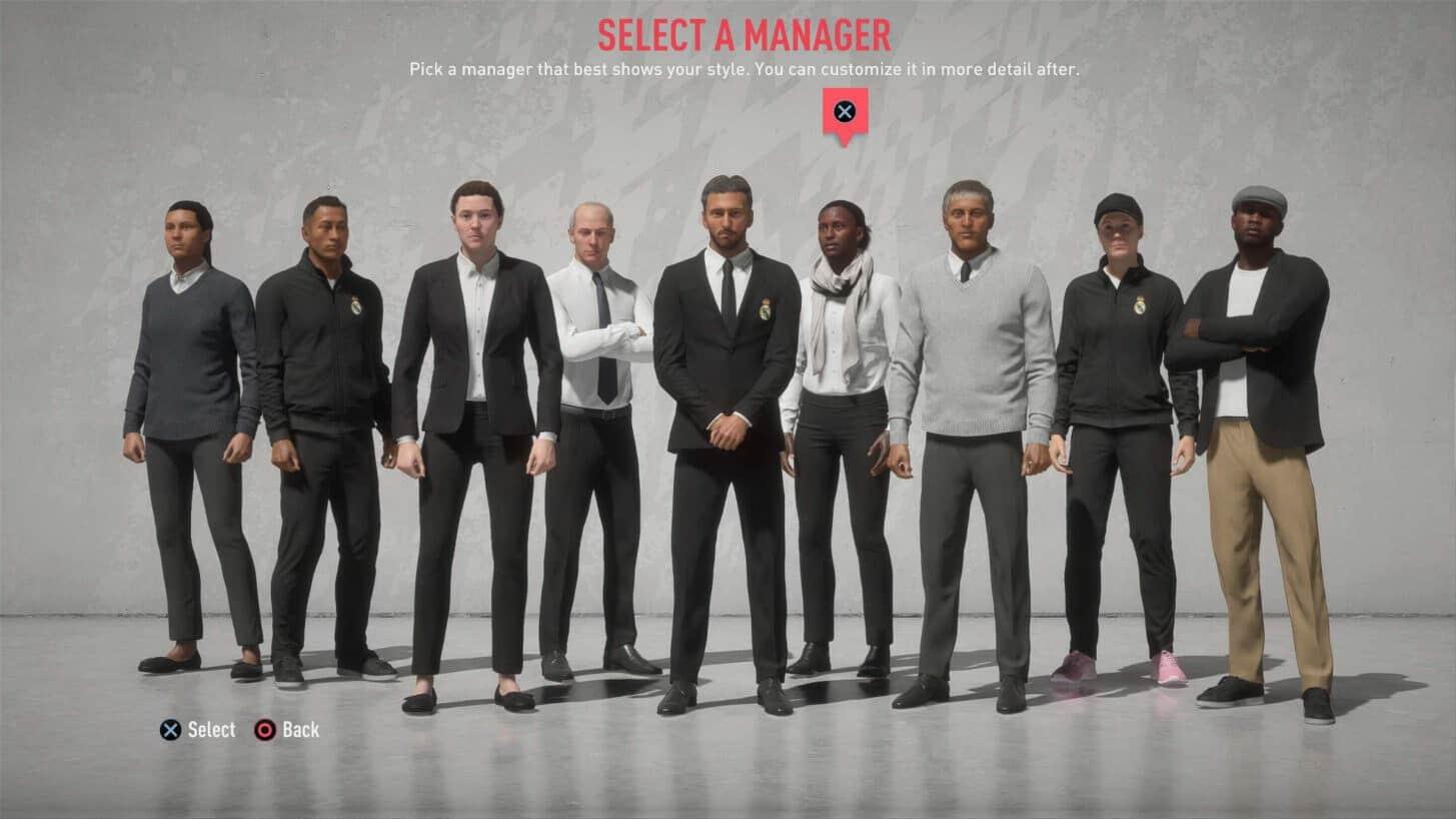 FIFA 20 : les nouvelles fonctionnalités du mode carrière