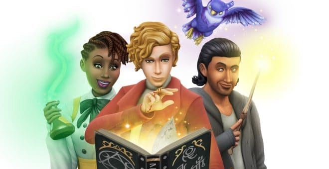 Les Sims 4 dévoile son DLC Monde Magique à la Gamescom 2019.