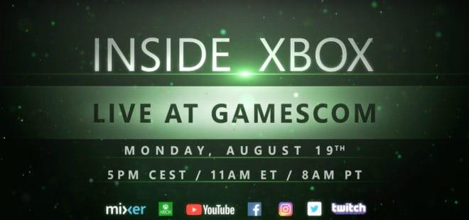 Microsoft tease sa présence à la Gamescom 2019 avec un trailer pour l'Inside Xbox.
