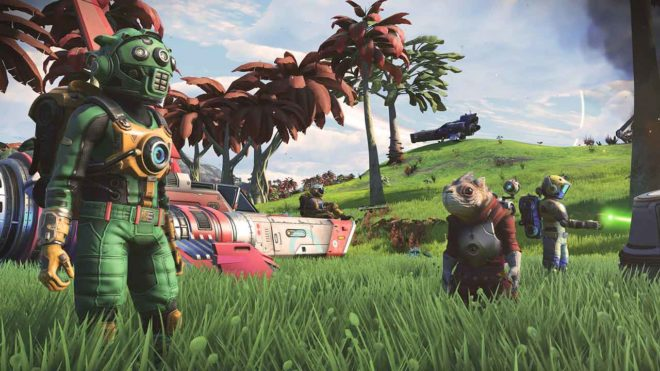 No Man's Sky sur Nintendo Switch n'est pas impossible.