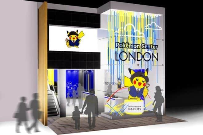 Un Pokémon Center éphémère est prévu en octobre à Londres.