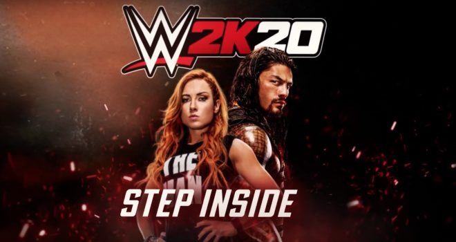 WWE 2K20 mise sur Becky Lynch et Roman Reigns.