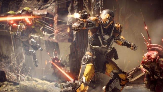 Electronic Arts amène Anthem sur son offre d'abonnement.