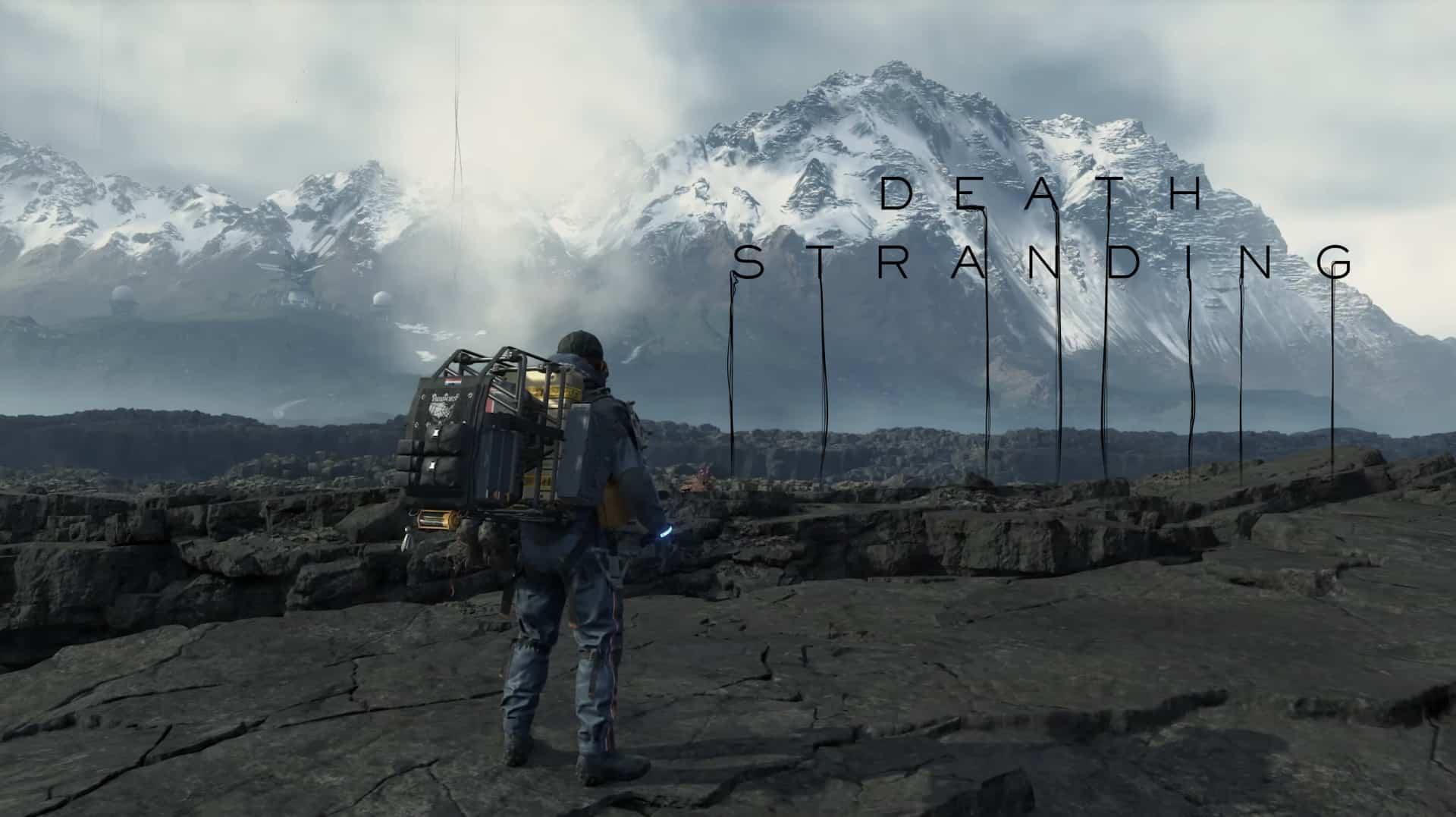 Death Stranding : les joueurs seront livrés à eux-mêmes dès le début