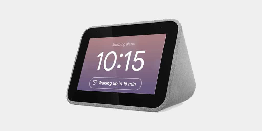 Bon plan : l'enceinte réveil Lenovo Smart Clock avec Assistant Google à 69€ sur Darty