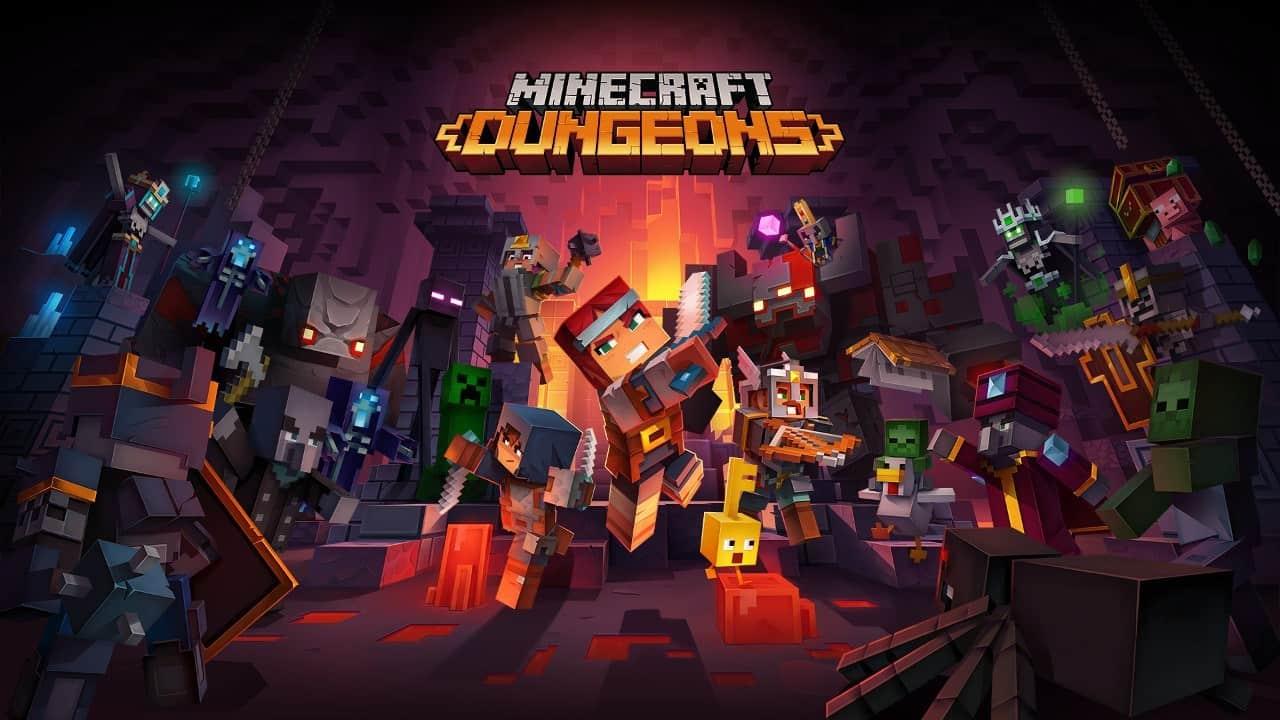 Minecraft Dungeons : le studio britannique Double Eleven va aider Mojang pour le développement